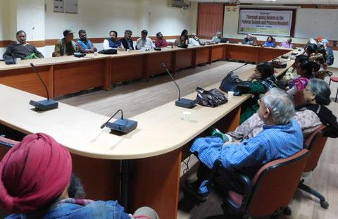 Political forum on electoral reforms 1