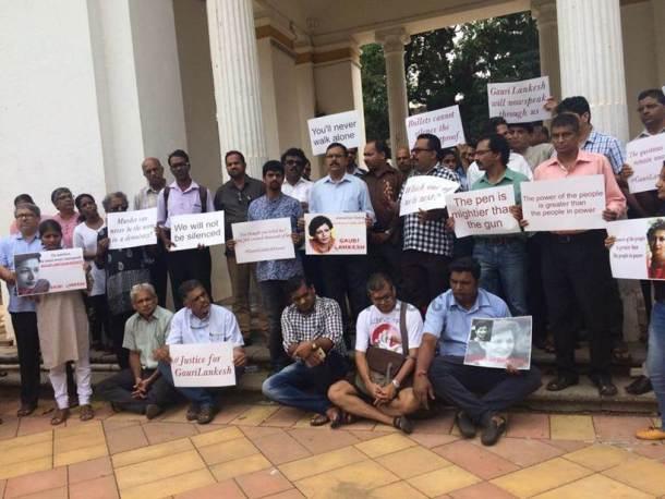 Protest Goa