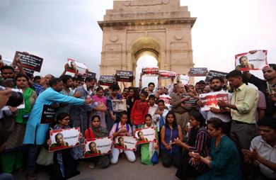 Protest India Gade