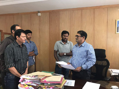 Petitions being filed by laid off Tech Mahindra employees