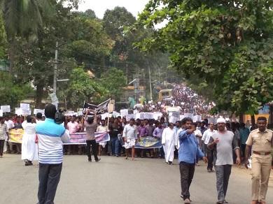 SDPI march