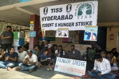 TISS-hunger strike