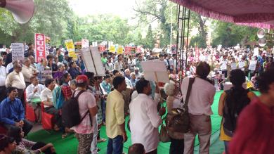 Parliament Street demo