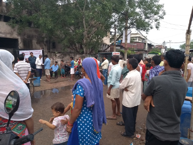 Sanjay Colony campaign 19Aug2018