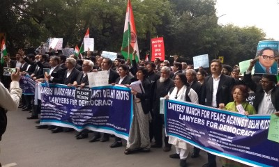 Lawers protest