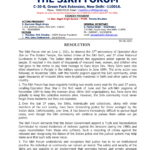 Resolution of Sikh Forum on the 37th anniversary of Operation Blue Star on The Golden Temple